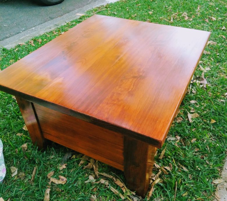 Makeover Coffee Table
